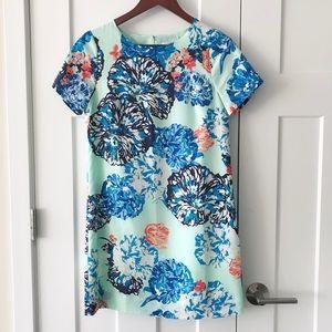 New! J. Crew mint floral dress.